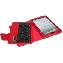 iPad Mini Leather Case with Bluetooth Keybaord